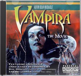 Cover of Vampira: The Movie soundtrack CD