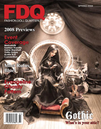 Cover of Spring 2008 issue of Fashion Doll Quarterly