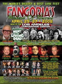 Fangoria Weekend of Horrors Los Angeles 2008 poster