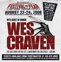 Rue Morgue Festival of Fear, August 22 - 24