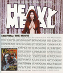Review in Heavy Metal magazine, January 2009